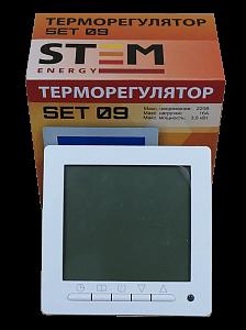 Программируемый терморегулятор SET-09 с датчиком пола и воздуха